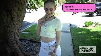 Blonde babe Emma Starletto goes on second rough online date 15 min