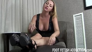 I have a special foot fetish treat for your eyes only