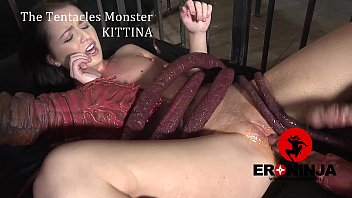 Wierd anal vids - The tentacles monster kittina ivory