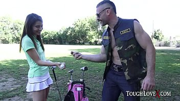 TOUGHLOVEX Karl gets to play with Adria Rae's holes