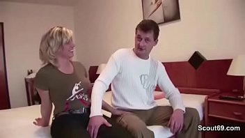 Mom and dad from Dresden fucking at the porn casting