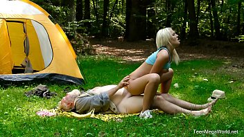 Old-n-Young.com - Lovita Fate - Mushroom hunter picks up blonde pussy preview image