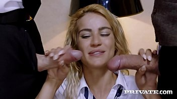 Private.com - Young School Girl Cherry Kiss DPd By Teachers!