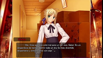 Fate Stay Night Realta Nua Day 5 Part 2 Gameplay (Espa&ntilde_ol)
