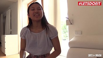 LETSDOEIT - Asian Teen Babe May Thai Takes You On An Unforgettable Masturbation Solo Experience