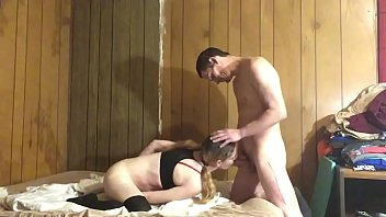 Young Blonde Begs To Be Treated Bad