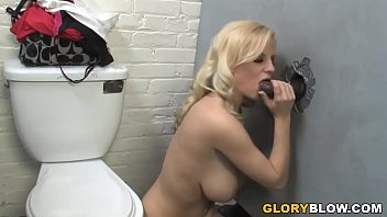Haley Cummings Interracial Gloryhole