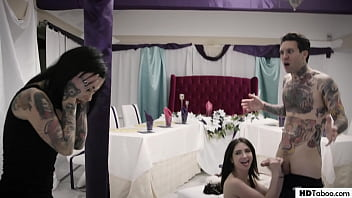 Joanna jojo levesque hentai Sick stepsister ruins the wedding - jane wilde and joanna angel