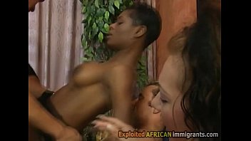 Sweet honey love glamour video fucking Pounding a gorgeous black immigrant up her ass and pussy