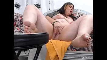 foot focused masturbation