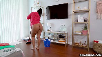 BANGBROS - Big Tits Latina Maid Rose Monroe Gets Her Big Ass Fucked thumbnail