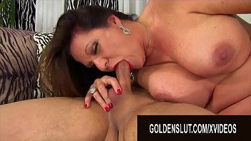 Golden Slut - Brunette Mature Beauty Leylani Wood Compilation Part 4