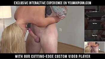YOUMIXPORN Interactive Neighbour cheats on his wife with naughty blonde MILF Nikky Thorne