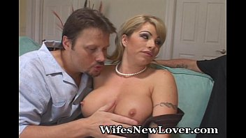 Wife makes hubby suck cock - Wife makes hubby jealous of new lover