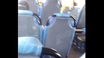 jerking off on the bus