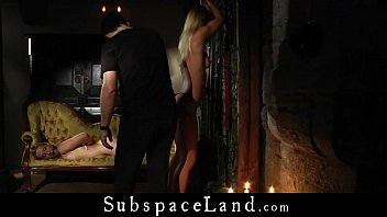 Enslaves teens rough pained inside some castle ruins 6 min