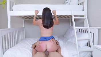 Stepsister Helping Young Brother By Teaching Sex Befor He Goes College - Natalie Brooks, Ricky Spanish - Family Strokes