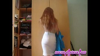 Redhead teen amateur - Redhead in home made action