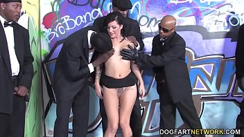 Tori Lux Sucks Many Big Black Dicks