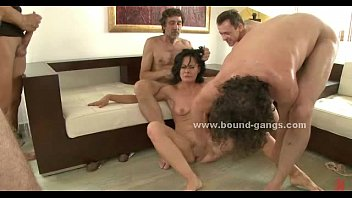 Forced To Watch Orgy