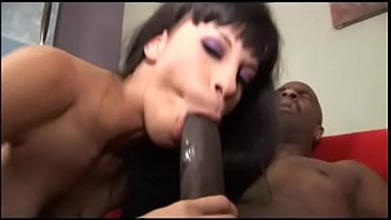 Mulatto chick Pleasure loves huge black dick in her pink and desired hole thumbnail