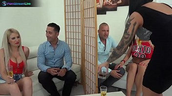 Kinky group sex adventures with big tits hot blondes