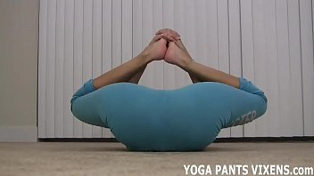 Do you want to watch while I do my yoga JOI