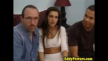 Classic amateurs plowed by older retro guy