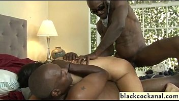 Interracial dp with ass to mouth