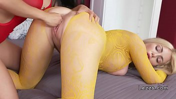 Asian lesbian fisting blonde Russian babe