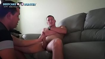 Sucking hung construction worker straight dude