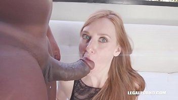 Linda Sweet is coming to enjoy Kinky Sex with black cocks & double anal video