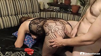 Smoking girlfriend takes my big hard cock