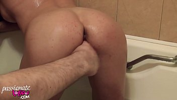 Fitness Woman Masturbate Pussy and Suck Dick in the Bathroom - Pissing صورة