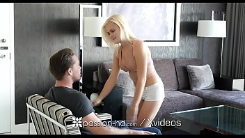 PASSION-HD Hotel fuck and facial with blondie Madison Hart