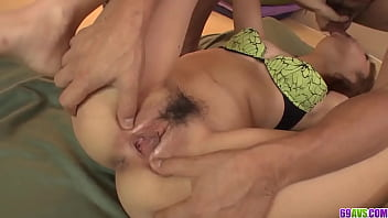 Hard sex and cum on pussy for amateur Kana Aono - More at javhd.net 12 min