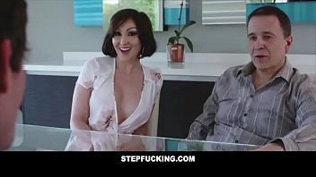 Big tit step aunt fucks step nephew and almost gets caught- STEPFUCKING.COM