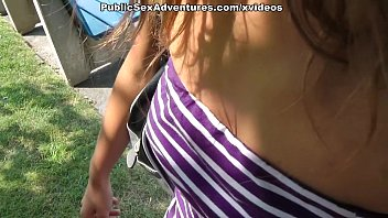 real amateur public fuck with hot girl thumbnail