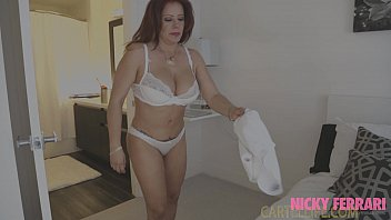 Sara Jay Bombshell Latina Mom Nicky Ferrari and Charly in La Mexicana Part 3