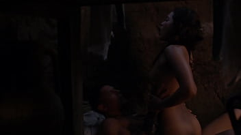 Nude naked spartacus Lesley-ann brandt - engages in sexual relations with a man - uploaded by celebeclipse.com