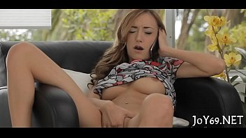 Masturbation free movies Babe in a kinky solo act