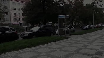Watch This Hottie Piss In The Middle Of The City 82 sec