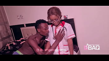 Bangass Queens - Horny Patient Fucked Naughty Young Nurse