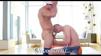 Can a gay man be saved Manroyale - straight stud aspen goes deep in john darlings ass