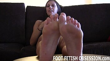Lick between my toes and worship my arches