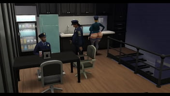 Big Ass Police Officer Forced And Impregnated