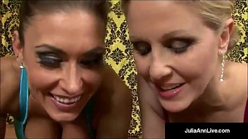 The Most Hottest Milf Julia Ann & Mega Beauty Jessica Jaymes Put a Big Cock IN their Mouths & Love the Mega Hot Load of Sperm Juice In Their Faces! Full Video-Live @ JuliaAnnLive.com!