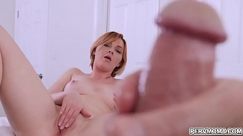 Horny Marie Mccray masturbates with stepson