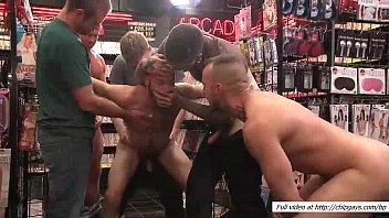 bound seth fisher in public orgy