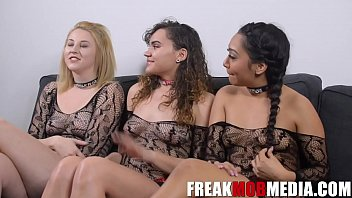 3 new pornstars talk about how they love to suck cok